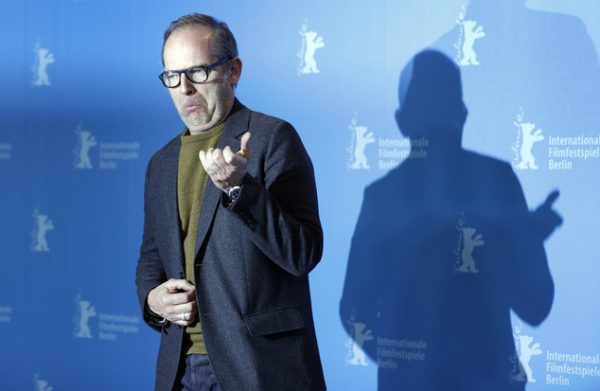 Director Etienne Comar poses for the photographers during a photo call for the film 'Django' at the 2017 Berlinale Film Festival in Berlin, Germany, Thursday, Feb. 9, 2017. (AP Photo/Michael Sohn)